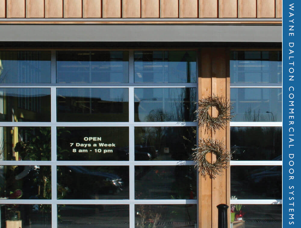 Lewis River Doors does commercial garage door replacement for Brush Prairie
